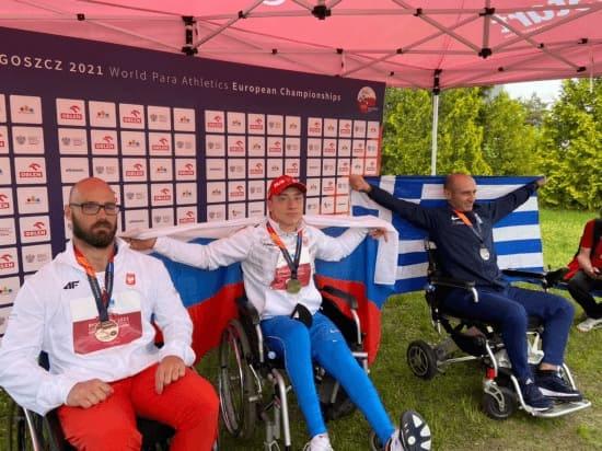 Донской спортсмен-паралимпиец установил новый рекорд Европы