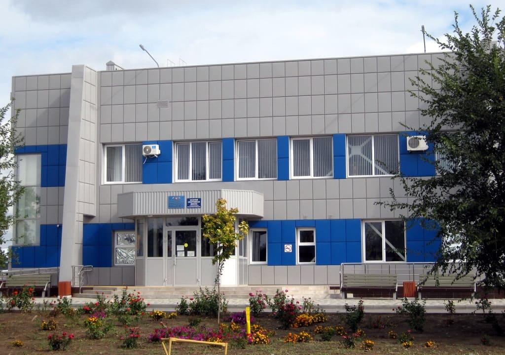 В Константиновске по проекту «Демография» построили спортивный комплекс